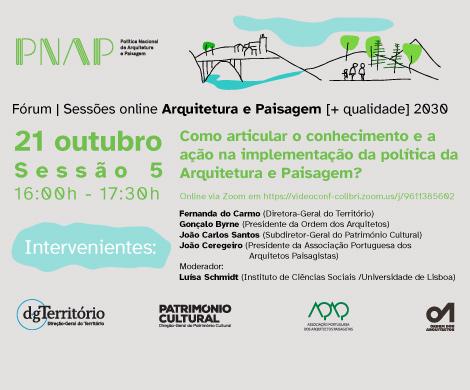 Fórum Arquitetura e Paisagem [+ qualidade] 2030
