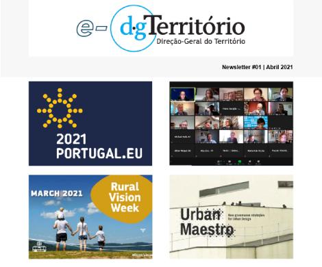 Newsletter DGTerritório