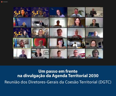 Um passo em frente na divulgação da Agenda Territorial 2030