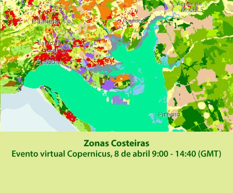 """Apresentação do novo produto Copernicus """"Zonas Costeiras"""""""