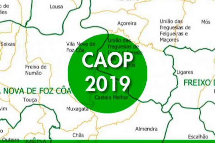 Carta Administrativa Oficial de Portugal - CAOP2019